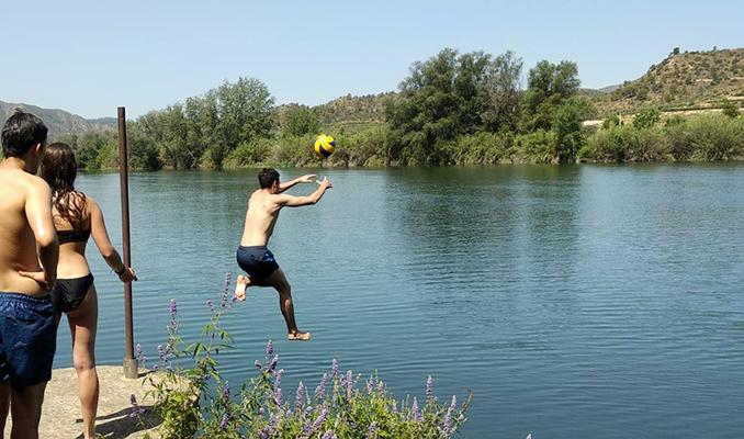 Camps de Treball, riu, Riba-roja