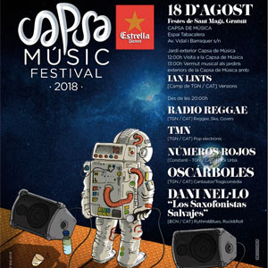 Capsa Music Festival, Sant Magí, Tarragona, 2018