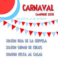 Carnaval - Campredó 2018