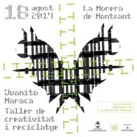 Taller de creativitat i reciclatge - La Morera de Montsant 2017