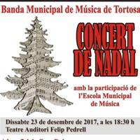 Concert de Nadal Banda de Tortosa 2017