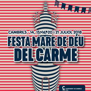 Festa de la Mare de Déu del Carme, Cambrils, 2018