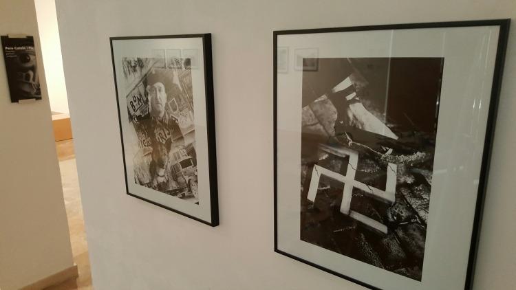 Exposició 'Pere Català i Pic' - Obra 'Aixafem el feixisme'