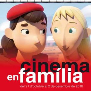 Cicle de Cinema en Família de la Diputació de Tarragona, 2018
