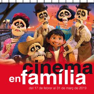 Cinema en família, febrer març, 2019