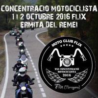 Concentració motorista - Flix 2016