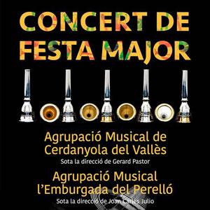Concert de Festa Major - Música de Banda - El Perelló 2019