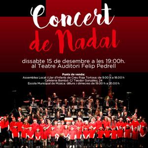 Concert de Nadal - Banda Municipal de Música de Tortosa 2018