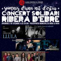 Concert solidari Ribera d'Ebre - Móra la Nova 2016