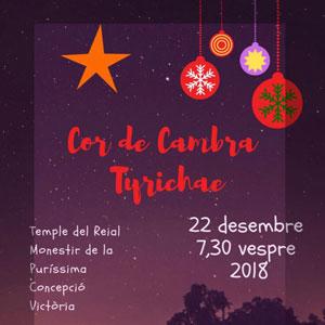 Concert de Nadal - Cor de Cambra Tyrichae 2018