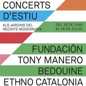 Concerts d'Estiu al Recinte Modernista - Barcelona 2018