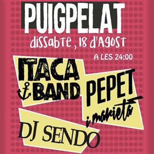 Nit Jove, Concerts, Festa major, Puigpelat, Camp de Tarragona, 2018