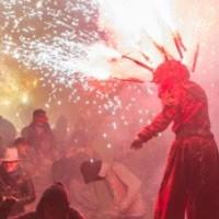 Correfoc amb els Diables de l'Onyar