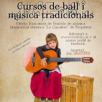 Cursos de ball i música tradicionals - Escola 'Lo Canalero' 2016