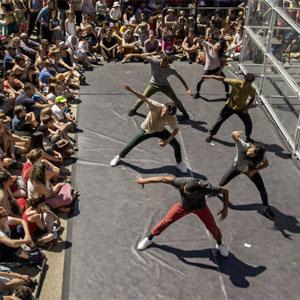 Espectacle de dansa 'D-Construction' a càrrec de Compagnie Dyptik