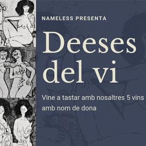 'Deeses del vi. Vins amb nom de dona' - Galeria H20 Barcelona 2019