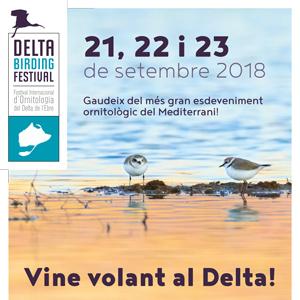 Delta Birding Festival - MónNatura Delta de l'Ebre 2018