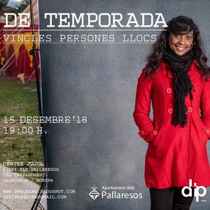 Exposició 'Vincles, Persones, Llocs' dels 'de temporada' als Pallaresos