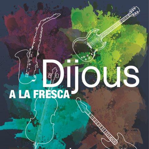 Fragment del cartell del cicle de concerts 'Dijous a la Fresca'