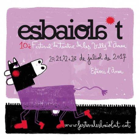 Cartell de l'Esbaiola't 2017