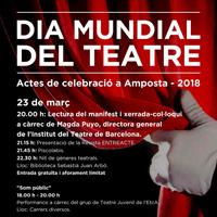 Dia Mundial del Teatre - EtcA 2018