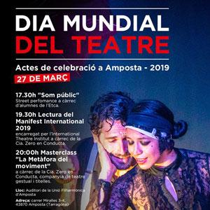 Dia Mundial del Teatre - EtcA 2019