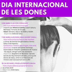 Dia Internacional de les Dones a Salou