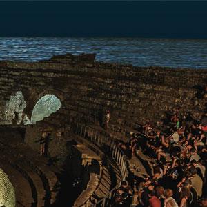 Visita nocturna a l'Amfiteatre + documental