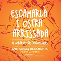 VI Jornades Gastronòmiques de l'Escamarlà i l'Ostra Arrissada - La Ràpita 2018