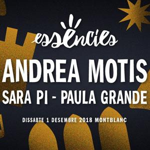 Essències festival (edició d'hivern), Montblanc, 2018