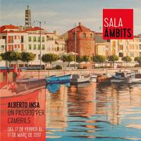 Exposició 'Un passeig per Cambrils' d'Alberto Insa