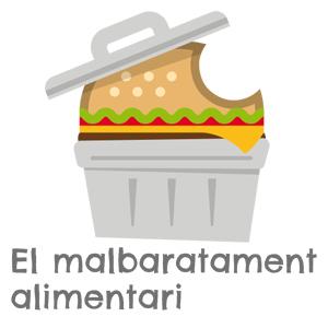 Exposició 'El malbaratament alimentari' - Mans Unides