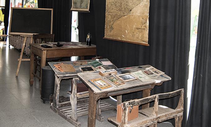 expo escola antiga, escola vall fosca, pallars, pirineus