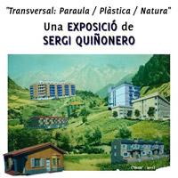 Exposició 'Transversal: Paraula / Plàstica / Natura' de Sergi Quiñonero