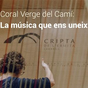 Exposició 'Coral Verge del Camí: units per la música' a Cambrils