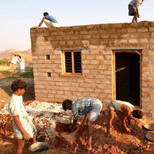Exposició 'Índia: Habitatge i dignitat' de la Fundació Vicente Ferrer