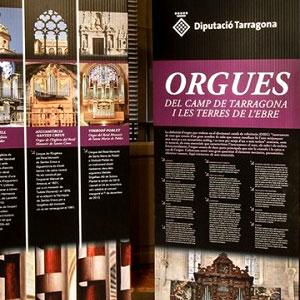 Exposició 'Orgues del Camp de Tarragona i les Terres de l'Ebre'