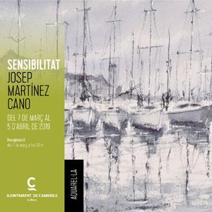 Exposició 'Sensibilitat' de Josep Martínez Cano
