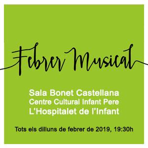 Cicle de conferències 'Febrer Musical' a l'Hospitalet de l'Infant