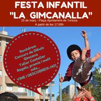 Festa infantil 'La Gimcanalla' - Tortosa 2017