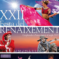 XXII Festa del Renaixement - Tortosa 2017