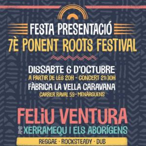 festa presentació 7è ponent roots festival