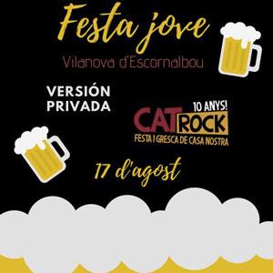 Festa Jove a Vilanova d'Escornalbou