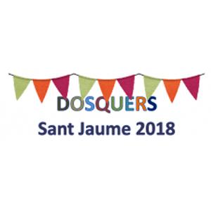 Festes Majors Dosquers, 2018,