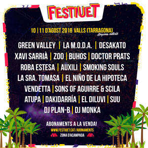 Festival 'Festiuet' de Valls 2018