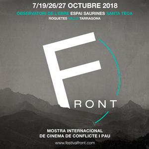 FRONT, Mostra Internacional de Cinema de Conflicte i Pau - 2018
