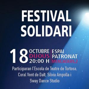 Festival Solidari per Mans Unides - Tortosa 2018