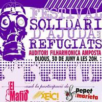 Festival Solidari d'Ajuda als Refugiats - Amposta 2016
