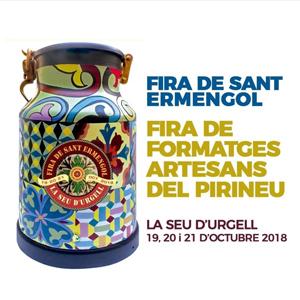 Fira de Sant Ermengol. Fira de formatges artesans del Pirineu - La Seu d'Urgell 2018