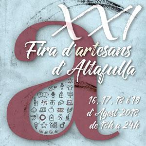 XXI Fira d'Artesans, Altafulla, 2018